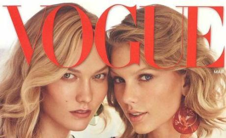Taylor Swift, Karlie Kloss Vogue Cover