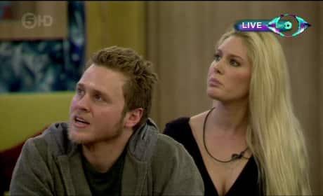 Heidi and Spencer on Celebrity Big Brother