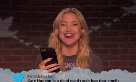 Kate Hudson Reads Mean Tweet