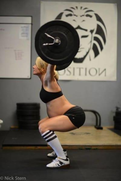Pregnant CrossFit Mom Pic