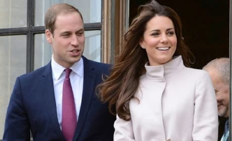 Kate Middleton With Prince William Picture