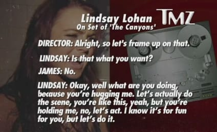 """James Deen Told to """"Do Your F*%king Job"""" By Lindsay Lohan on Set, Stands Up For Star"""