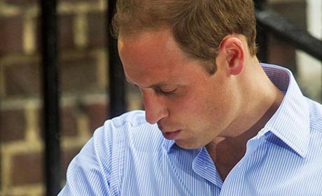 Prince William, Royal Baby