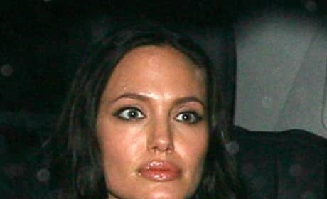 Is this the real Angelina Jolie, or a wax statue of the actress?