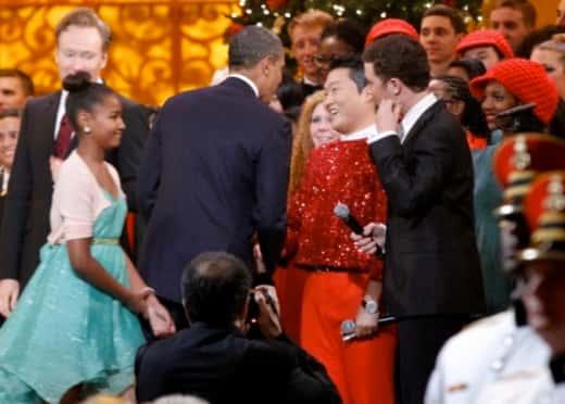 Obama Meets PSY