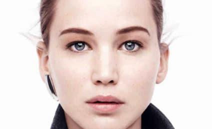 Jennifer Lawrence: Makeup-Free in Dior Ads