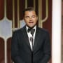 Leonardo DiCaprio on Stage