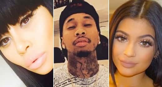 Blac, Tyga and Kylie