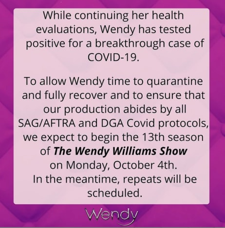 message from wendy