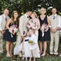 Flower Girl Kisses Ring Bearer