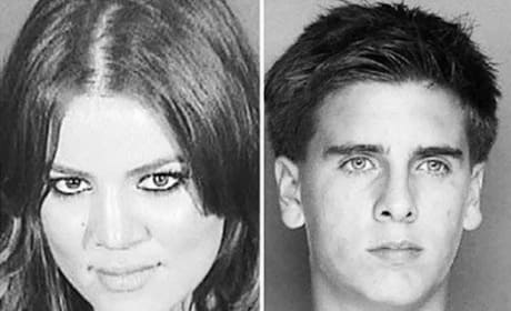 Khloe Kardashian Mug Shot Message