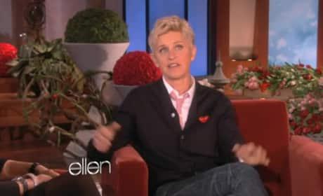 Bruce and Kris Jenner on Ellen