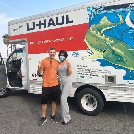 Larissa Lima, Eric Nichols and a U-Haul