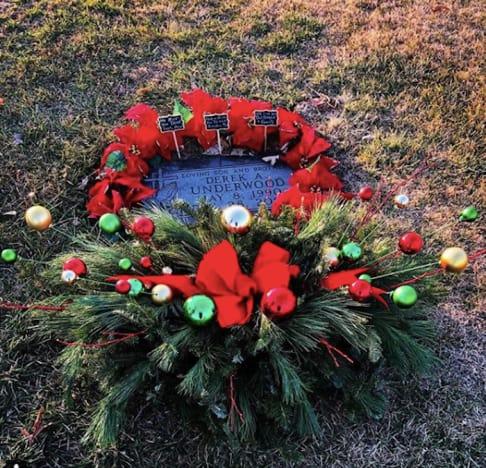 Derek Underwood Grave