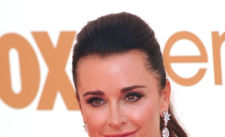Kyle Richards on the Red Carpet