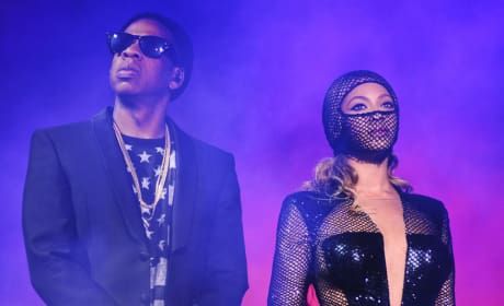 Jay Z and Beyonce on HBO