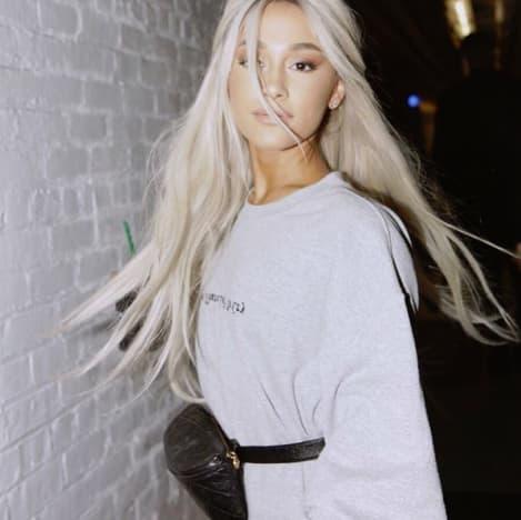Ariana Grande Goes Platinum