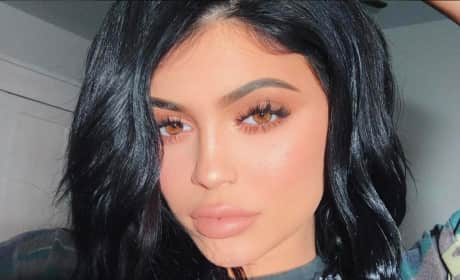 Kylie Jenner Gets Intense