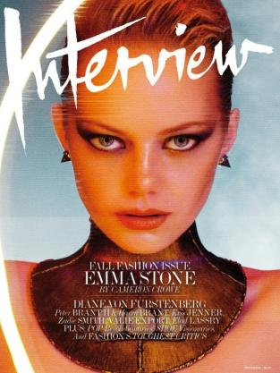 Emma Stone Interview Cover