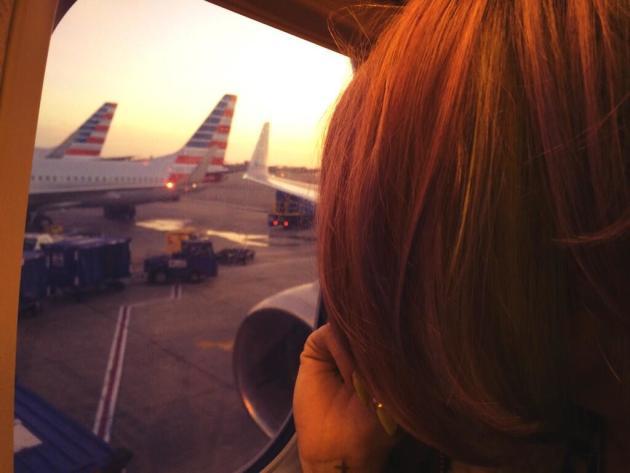 Ke$ha on a Plane