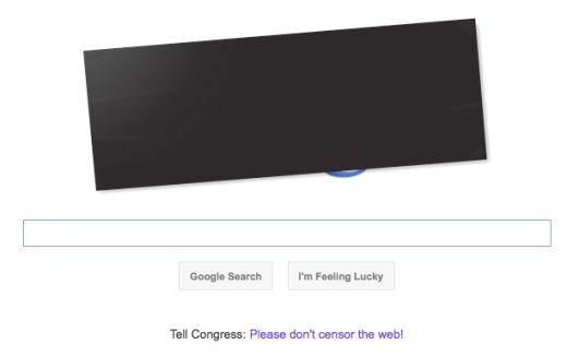 Google Blackout