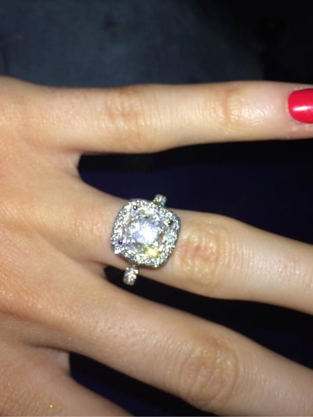Katherine Webb Engagement Wing