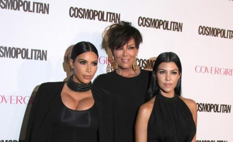 Kris Jenner, Kourtney and Kim
