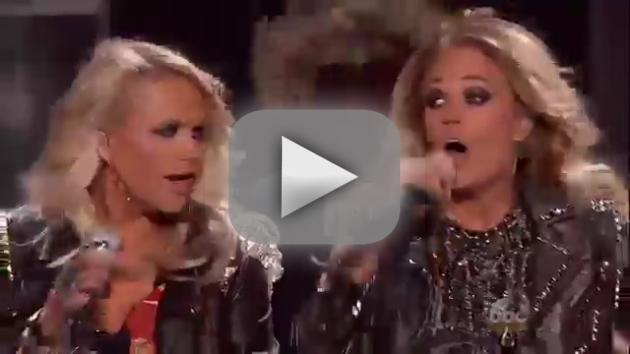 Carrie Underwood, Miranda Lambert Billboard Music Awards Performance 2014
