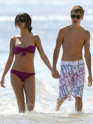 Selena Gomez and Justin Bieber on Vacation
