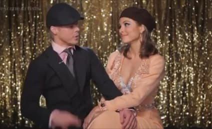 Maria Menounos and Derek Hough Possibly Kiss, Definitely Heat up Dancing With the Stars