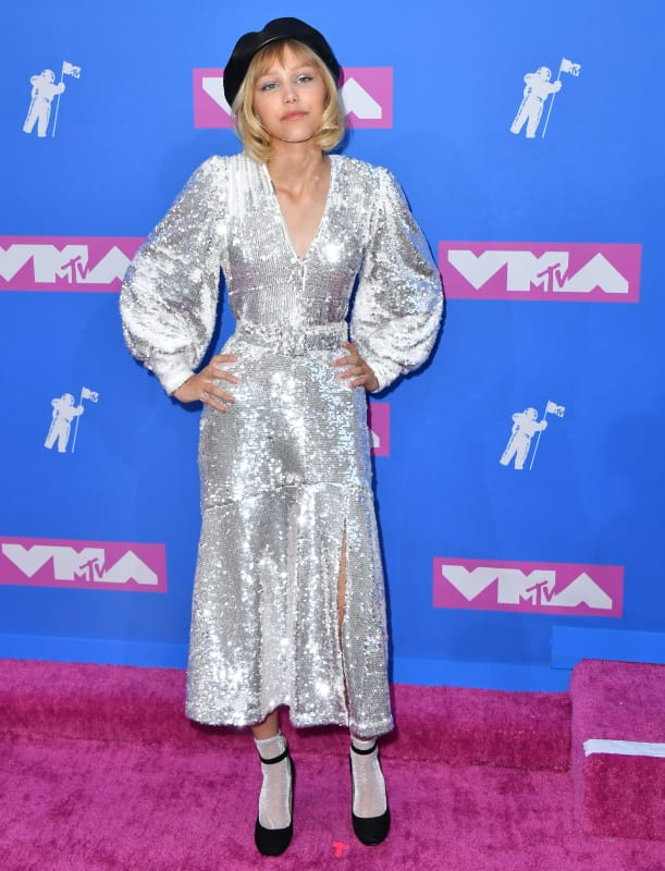 Grace vanderwaal at 2018 vmas