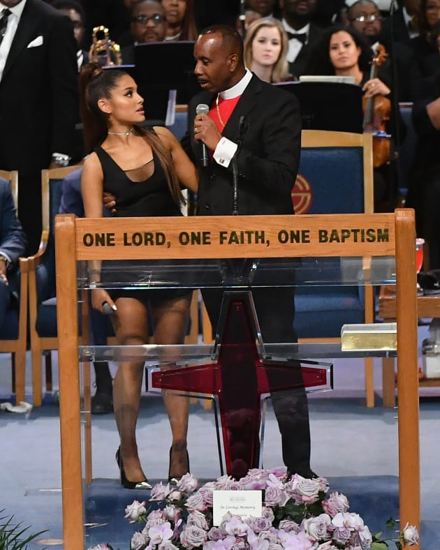 Ariana Grande and This Bishop