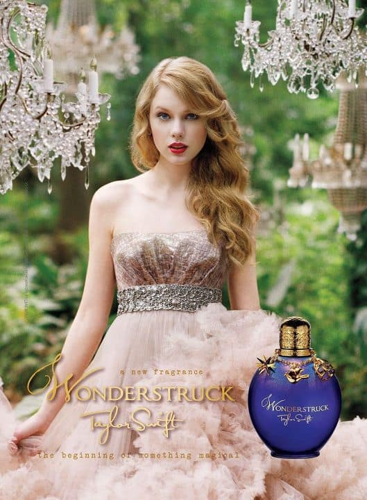 Taylor Swift Perfume Ad