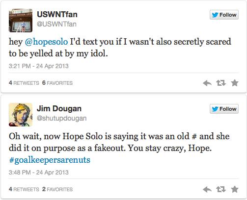 Hope Fan Tweets