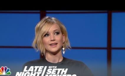 Jennifer Lawrence Confirms: I Vomited on Oscars Night!