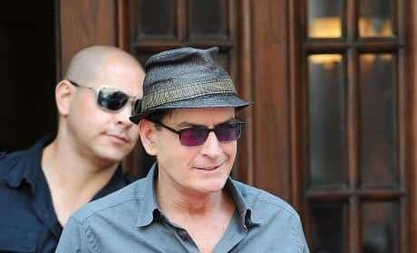 Charlie Sheen in Toronto