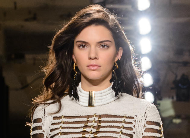 Kendall Jenner Models in Manhattan