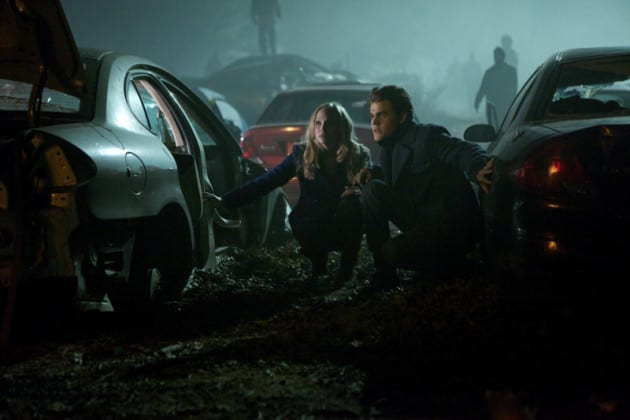 Carolien and Stefan Take Shelter