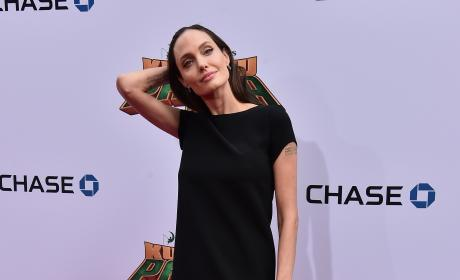 Angelina Jolie on the Red Carpet Photo