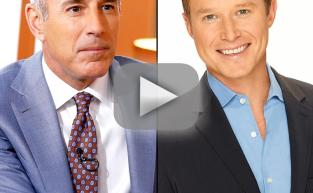 Matt Lauer Says Goodbye to Billy Bush