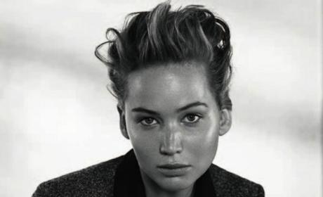 Jennifer Lawrence Dior Photos