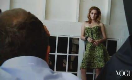 Behind the Scenes with Kristen Stewart...