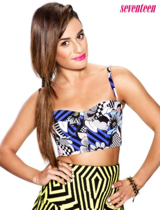 Lea Michele in Seventeen