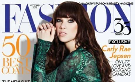 Carly Rae Jepsen Fashion Cover