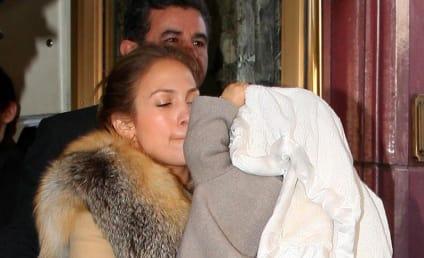 Jennifer Lopez Shows Off Confused, Exploited Children