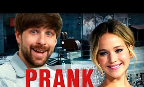 Jennifer Lawrence Pranks Pranksters, Pretends to Walk Out on Interview