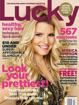 Jessica Simpson Lucky Cover