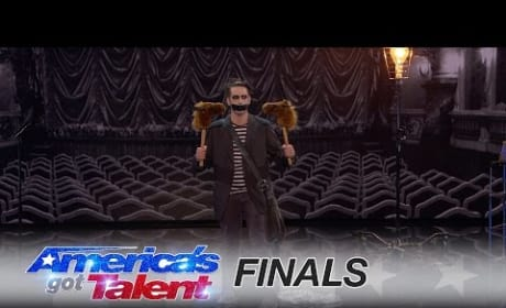 Tape Face Mimes a Toilet Seat on America's Got Talent Finale