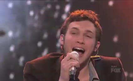 Phillip Phillips: Rainin Down on American Idol!