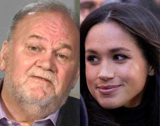 Thomas Markle, Meghan Markle Split